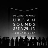 Urban Sounds Set Vol. 13 - February 2017