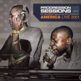 LTJ Bukem Featuring MC Conrad ‎– Progression Sessions 6 (America Live 2001)
