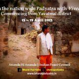 PAD YATRA TO INDIAN VILLAGES : VIVEK JI