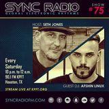 Afshin Linux Live @ Houston Sync Radio 90.1FM KPFT  (10 - 15 - 2016)