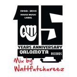 Qalomota Records 15 Years Anniversary - Mix by Wattfutchureez