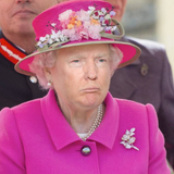 Trump The Queen Play That Hand