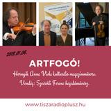 ArTfogó 2018.01.08. Vendég: Szecsődi Ferenc hegedűművész.