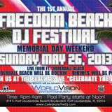 NOT FOR PARTY 133 (Freedom Beach DJ Fest. Promo)