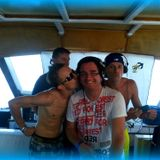 Jackie DJ aka Zero Absence - Sunset 2 Sunrise Privat Boat Party 27.09.2014