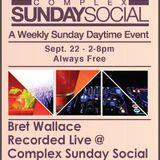 Bret Wallace @ Sunday Social