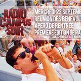 Radio Campus Soir #1 en direct du Bouillon de Culture 23/09/2015 Radio Campus Avignon