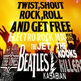 Twist,Shout,Rock,Roll and GET FREE(electro rock mix)