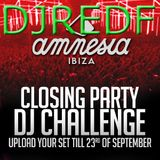 Amnesia DJ Competition by RED F