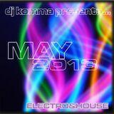 dj komma presents... May 2013 / Electro & House