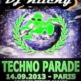 Dj Klicky LIVE @ Studio 7-Paris (Technoparade 2013)