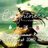 2014.8.24 LIVE at Brightness Rooftop Party