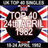 UK TOP 40: 18-24 APRIL 1982