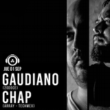 CHAP & Gaudiano @ 20doce (01.09.2016)