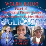 WGLRO RADIO The David Fisher Report Pt 3: The Texas Ranger Report ..The DWMS 9-26-2017