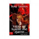 """""""FAQE LIBRI""""  -Vajza qe luante me zjarrin """" shkruar nga Stieg Larsson.Ep 1"""