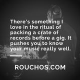Rouchos - December 2017 - Vinyl Only DJ Mix