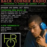 BACK CORNER RADIO: Episode #9 (April 26th 2012)