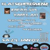 Harry Axt Klatschfrequenz III @ Kult-Hallen Marburg 24.01.2009