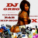 OLD SCHOOL RNB HIP-HOP MIX 90's VOL.10
