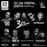 Afrojack  -  Live At Empo Awards 2014, Expo Bancomer (Mexico)  - 12-Apr-2014
