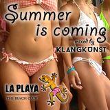 LA PLAYA - SUMMER IS COMING mixed by KlangKunst