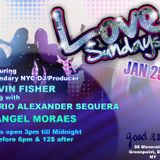"""Join us on Sunday January 25th, 2015 for """"Love Sundays"""""""