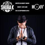 MOUV' RADIO - MOUV' LIVE CLUB 26 09 15