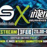 Intense @ Simbiosis Studio - Intense Soundsystem