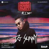 DJ Sunny - Bacardi House Party present : ZAAP ROOM #7