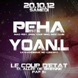 """YOAN.L WARM UP """"LE COUP'D'ETAT"""" 20/10/2012"""