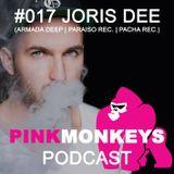 Pinkmonkeys. Club Podcast #017 feat. Joris Dee