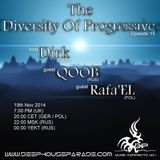 Dirk - Host Mix - The Diversity Of Progressive 15 (19th Nov 2014) on Deephouseparade.com