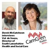 Derek McCutcheon interviews Val de Souza, South Lanarkshire Health & Social Care Director, 17 Jan