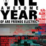 AreFriendsElectric? Anniversary x Lunar New Year Party 2012 Jan 24
