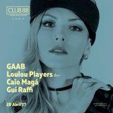 Gaab @ Club 88 April 28, 2017 Brazil (live)