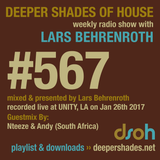 Deeper Shades Of House #567 w/ exclusive guest mix by NTEEZE & ANDY
