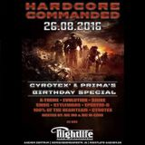 100% of the Beamteam & MC M-Core - live @ Hardcore Commanded - Cyrotex' & Prima's Birthday Special