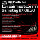 Cannibal Cooking Club (Live PA) @ Brainstorm On Tour - Sackfabrik Magdeburg - 27.02.2010