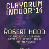 """Robert Hood at """"Claydrum Indoor"""" @ Maastricht Music Hall (Maastricht-NL) - 31 October 2014"""