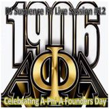 DJ Suspence FB Live Session #12:  Alpha Phi Alpha Founders Day Celebration w Classic & New HOUSE