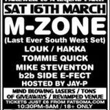 DJ M-Zone Live @ Premonition (16-03-2013)