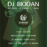 Biodan live at Chinar, deep house & lounge music set (Baku, Azerbaijan, Jan 31, 2015)