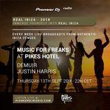 Real Ibiza 2018 - Justin Harris at Music For Freaks at Pikes Ibiza