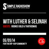 Simple Radio Show 008 w/ Luther & Selinah