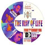 "Jeff Mills at ""The Way Of Life"" @ Cherry Moon (Lokeren - Belgium) - 2 February 1996"