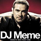 Marcelo Mansur [DJ Meme] Tribute Mix (Part one)