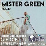 Geoblu - London Underground 42 - Mister Green