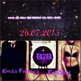 '' Under the same STARS, sharing the same DREAM '' live mix  3milio Ferreira  B2B FallStar