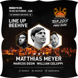 Marcos Deon - Live @ BeeHive Club / Warung Tour * Warm Up to Matthias Meyer - 10/Out/2015